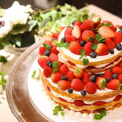 アーマテラスのウェディングケーキ