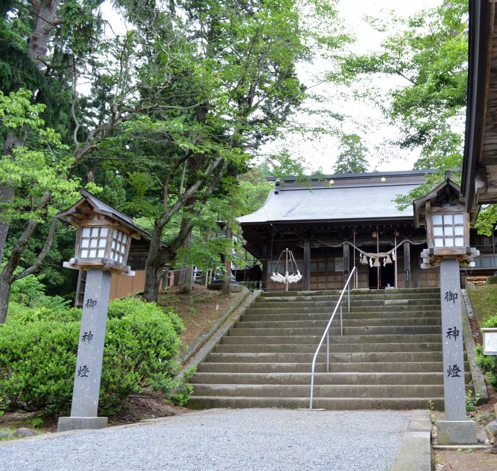 磐梯山の麓に佇む「土津神社」