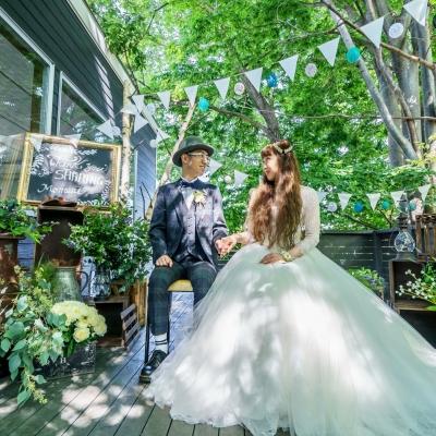 郡山のカフェで結婚式