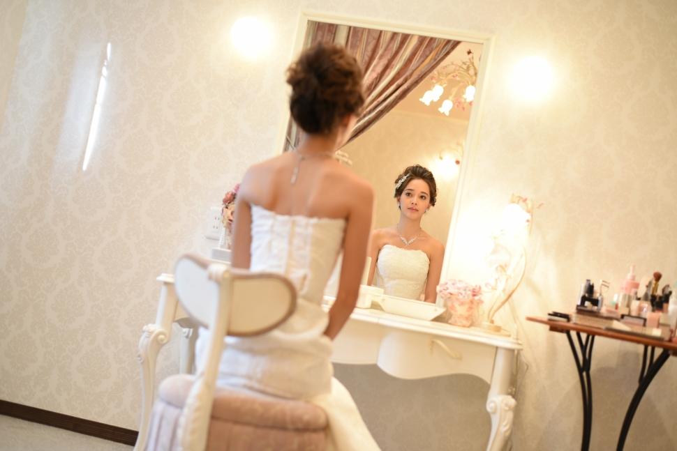 結婚式場ブライマリーコートのブライズルーム