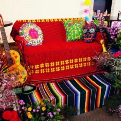 個性的なメキシカンメイン席