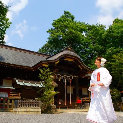 安積國造神社で挙げる結婚式
