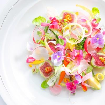裏磐梯高原ホテルの婚礼料理