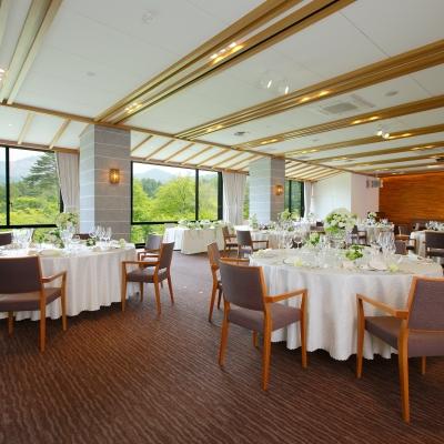 裏磐梯高原ホテルの披露宴会場
