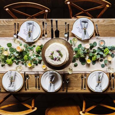 少人数婚のテーブルコーディネート