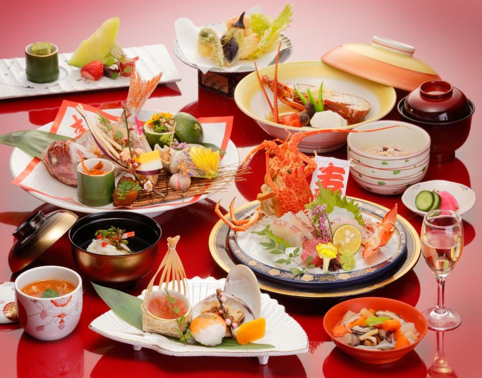 和の婚礼コース料理