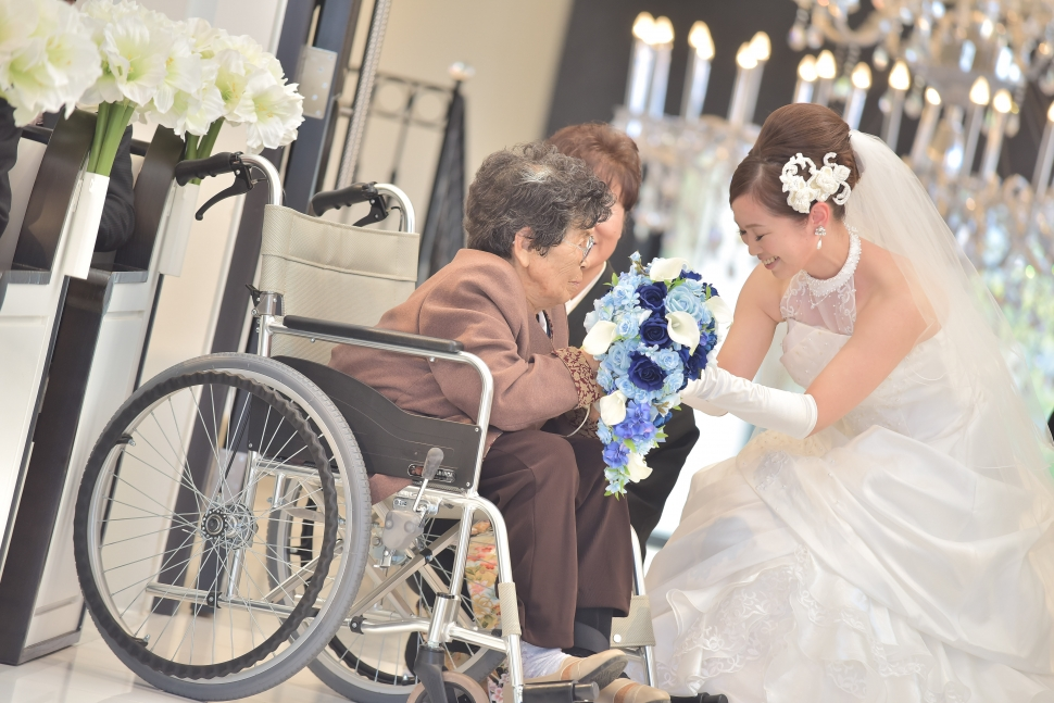 車いすゲストも安心できる結婚式場