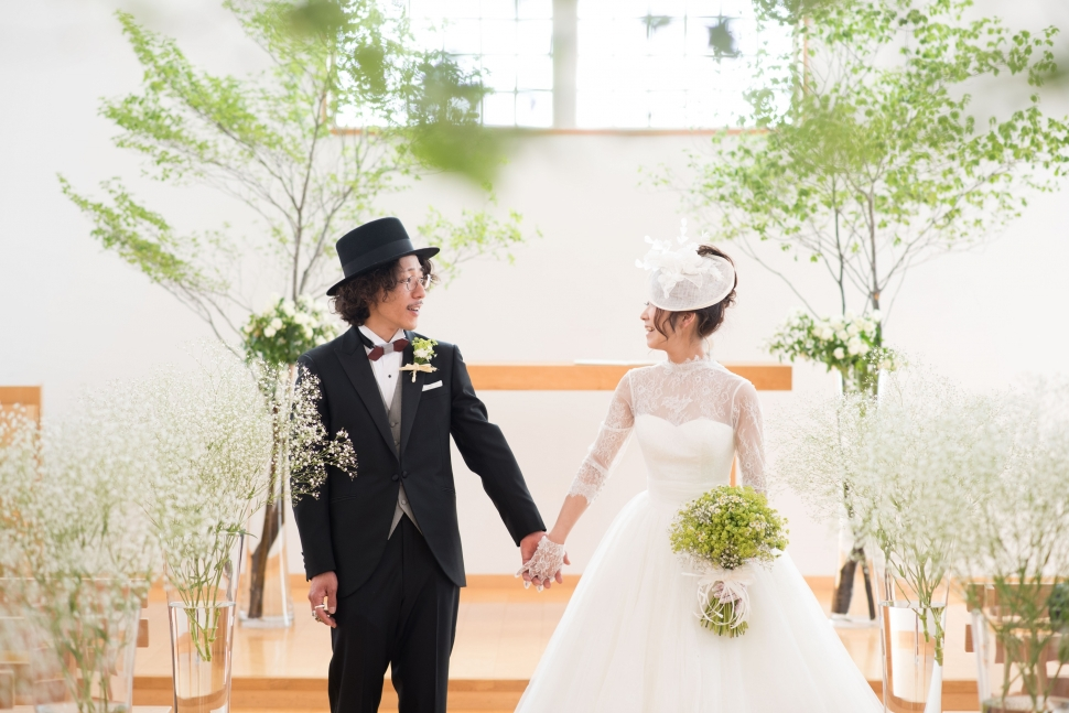アーマテラスの人前結婚式