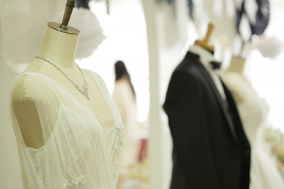イノセントリ―のウェディングドレス