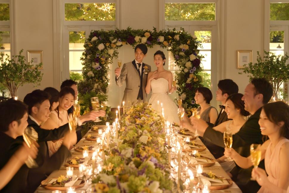 アーククラブ迎賓館郡山の結婚披露宴