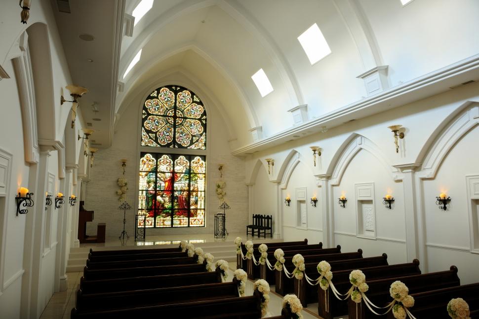 ブライマリーコートの大聖堂チャペル