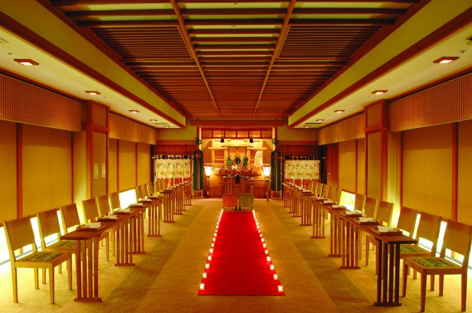 小名浜オーシャンホテルの神殿