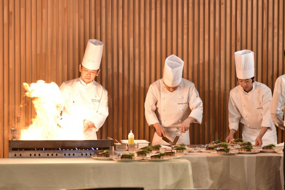 アーマテラスの料理演出のイメージ